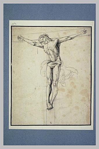 Etude de Christ en croix