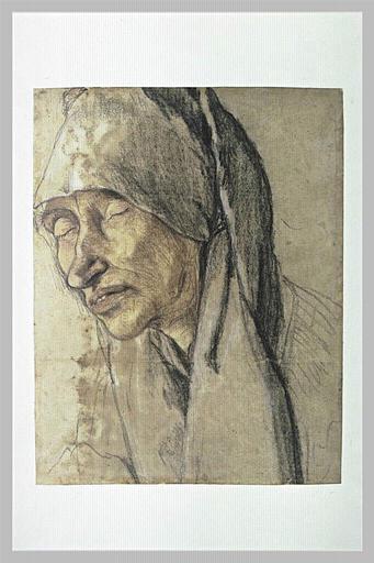 Portrait de Margarete Prellwitz, mère de Hans von Schönitz