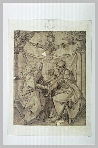 Sainte Vierge, sainte Anne et l'Enfant Jésus