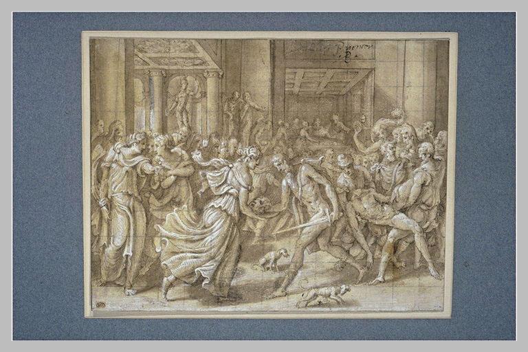 Le bourreau remet à Salomé la tête de saint Jean-Baptiste