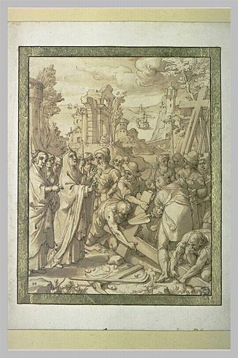 L'Invention de la Croix : sainte Hélène faisant déterrer les croix