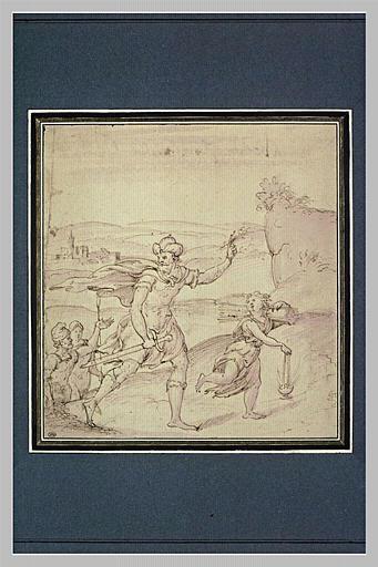 Abraham et Isaac se rendant au lieu du sacrifice