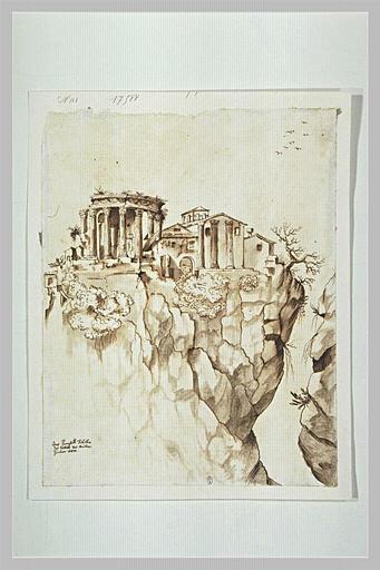 Le Temple de la Sibylle, à Tivoli