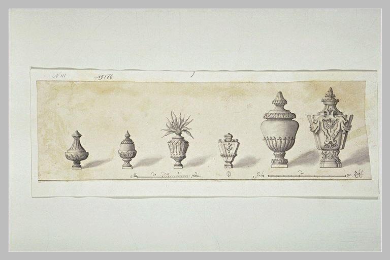 Six études de vases_0