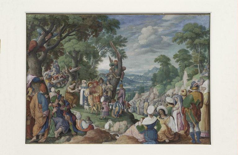 BOL Hans : Prédication de saint Jean-Baptiste