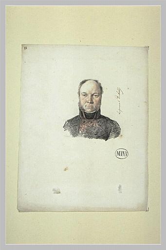 Portrait de général Delaitre, comte de Tilly (?)