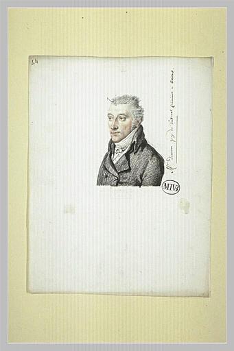Monsieur Demoor, juge du Tribunal Criminel à Anvers
