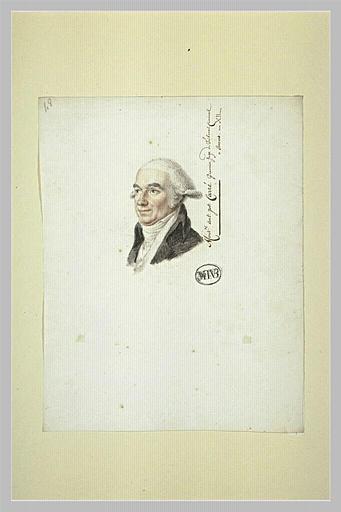 A.J. Carré, premier juge du Tribunal Criminel à Anvers