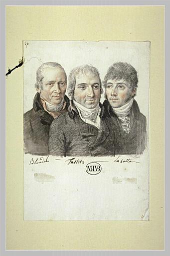 Messieurs Blondel, Fastit et Lacoste (?)