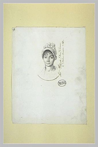 Madame Talhouet, dame d'honneur de Madame Bonaparte