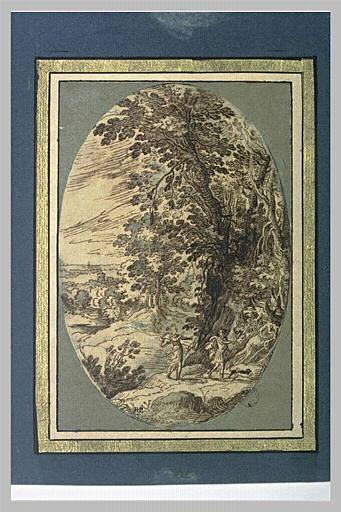 Paysage boisé, avec Vénus et Adonis