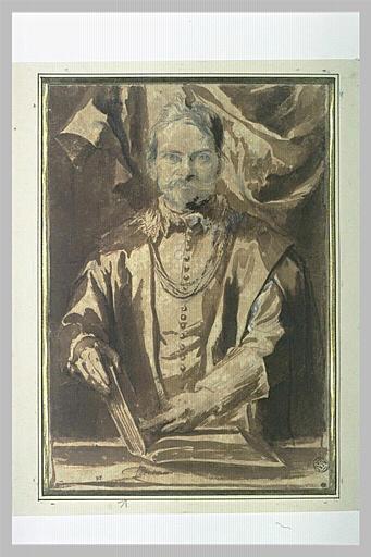 Portrait de Théodore van Thulden, professeur à Louvain_0