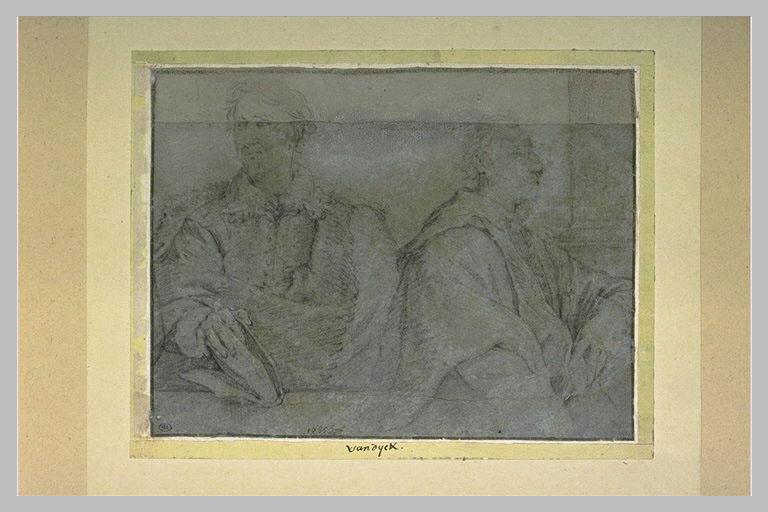 Portraits de Gaspard Gevaerts, jurisconsulte et de Cornelis Schut, peintre