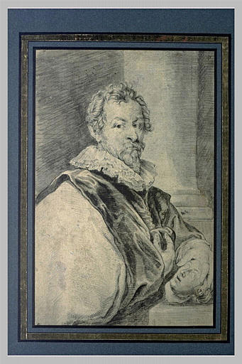 Portrait du peintre Hendrick van Balen
