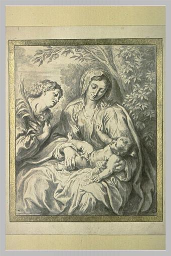 Vierge à l'Enfant et sainte Catherine