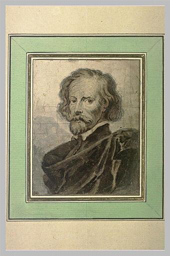 Portrait du graveur Lucas Vorsterman le vieux