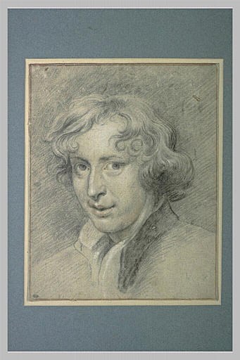 Portrait d'Antoon van Dyck jeune, de trois quarts à gauche