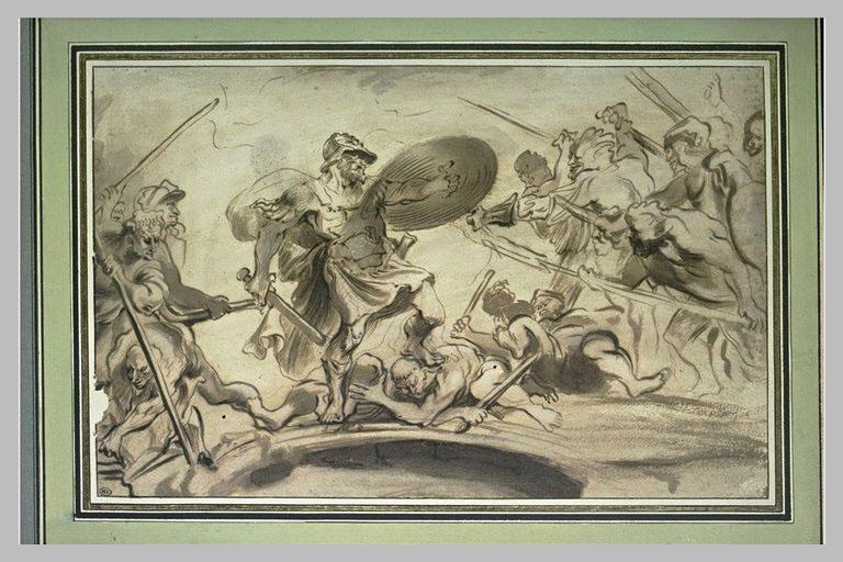 Horatius Coclès contre l'armée de Porsenna_0
