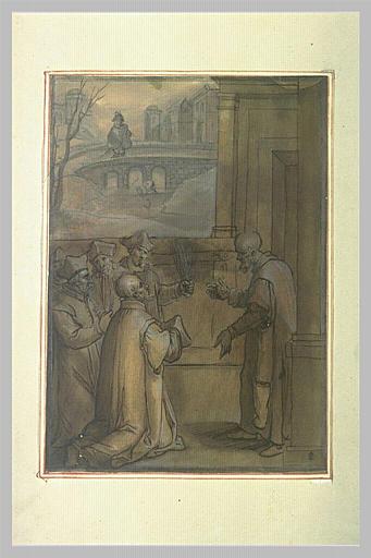 Deux scènes de la vie de saint Ignace de Loyola_0