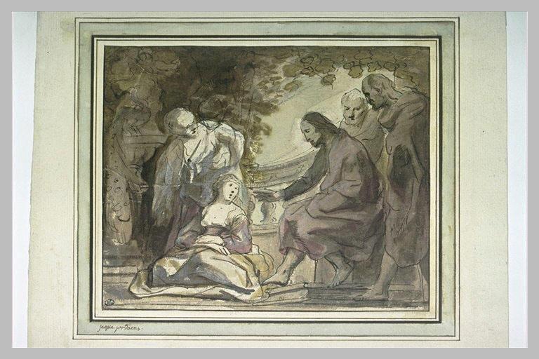 Le Christ parlant avec Marthe et Marie