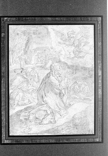 Jésus-Christ au Mont des Oliviers