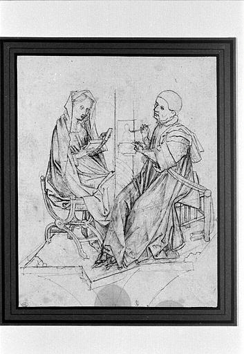 Saint Luc peignant le portrait de la Vierge