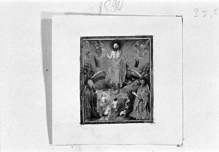 Le Jugement dernier avec la Vierge et saint Jean