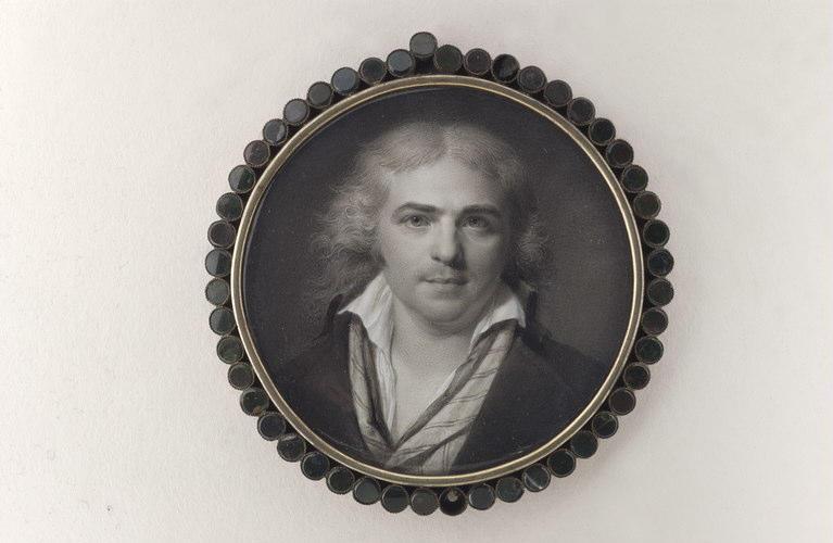 AUGUSTIN Jean-Baptiste Jacques : Portrait d'Augustin