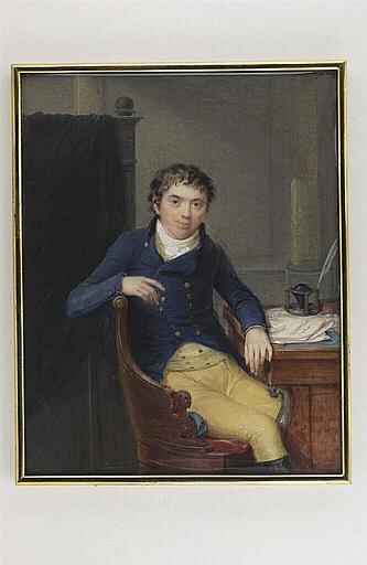 Portrait de Mr Barclay