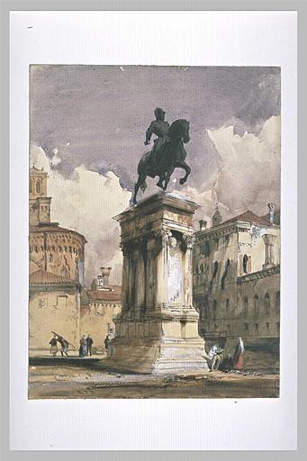 Statue équestre du Colleoni