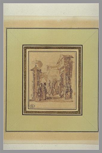 CALLOT Jacques : Jésus-Christ devant Caïphe