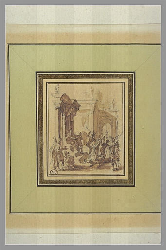 CALLOT Jacques : Jésus-Christ devant Pilate