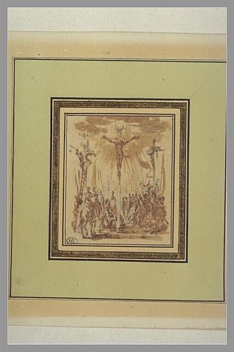 CALLOT Jacques : Jésus-Christ percé de la lance