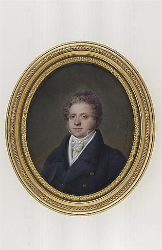 MIRBEL Lizinka Aimée Zoé de : Portrait de Monsieur Fichel