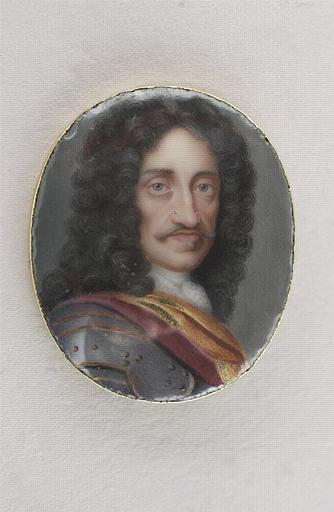 BOIT Charles : Portrait de Léopold II, empereur d'Allemagne