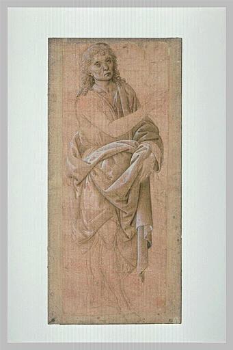 SCIARPELLONI Lorenzo : Saint Jean-Baptiste, debout