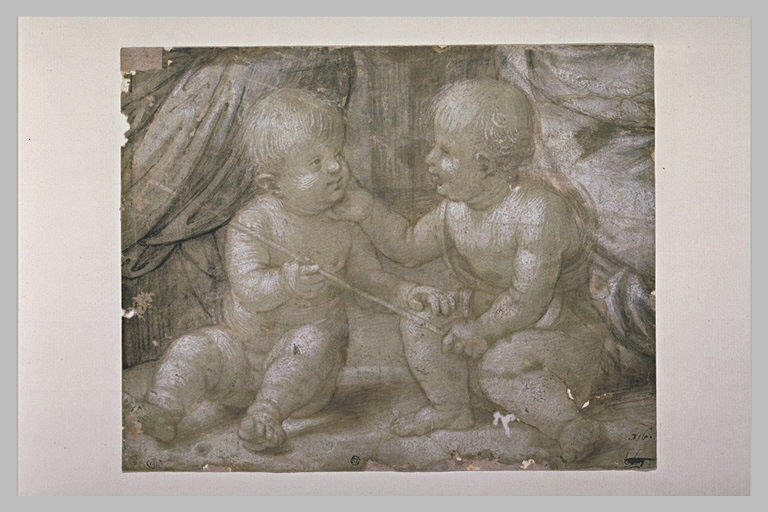 Jésus et saint Jean, enfants