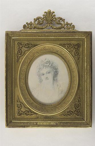 COSWAY Richard : Portrait de la mère de His de la Salle