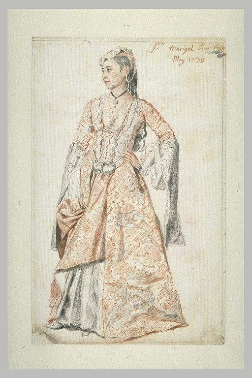 Portrait de la Signora Marigot, Smyrne