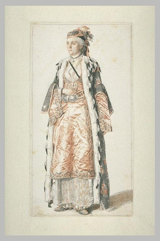 Portrait d'une dame franque de Constantinople