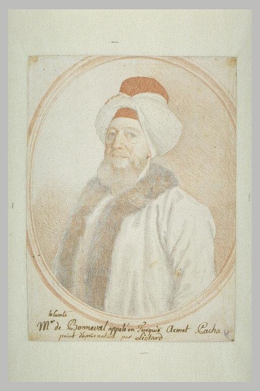 Portrait du comte de Bonneval, dit Ahmet Pacha