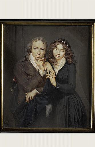 Portrait du peintre et de sa première femme