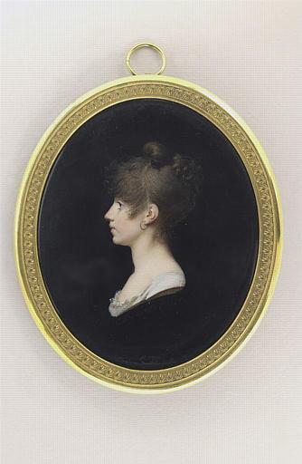 Portrait de Mme Fanny Morlot, née Bécuvre, peintre (1792-1876)_0