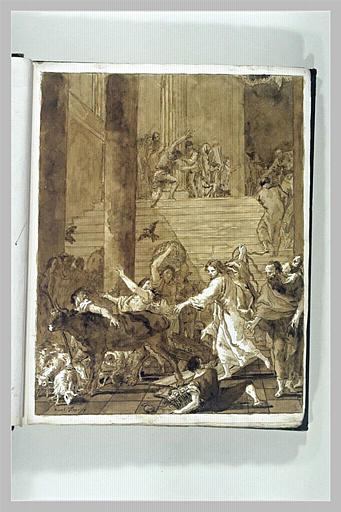 L'Expulsion des marchands du Temple