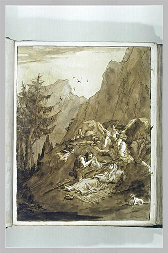 La mort de sainte Elisabeth (?)