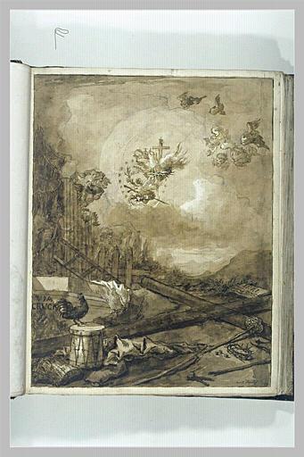 TIEPOLO Domenico : Les Instruments de la Passion