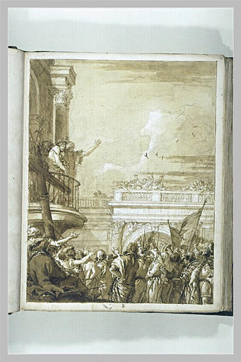 TIEPOLO Domenico : Ecce Homo
