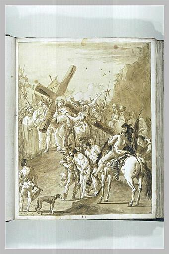Le Portement de Croix : la rencontre de sainte Véronique