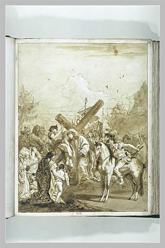 Le Portement de Croix : le Christ console les filles d'Israël
