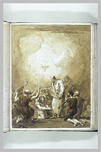 Baptême de saint Paul (?) par saint Pierre et saint Jean_0